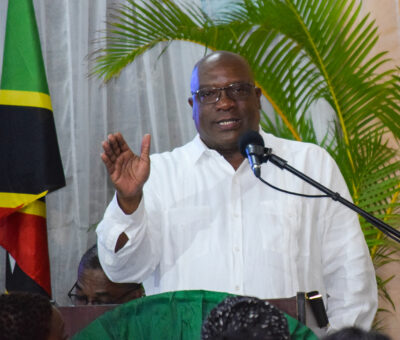 PRIME MINISTER HARRIS AFFIRMS  THAT COVID-19 CASES WILL DECLINE IF RESIDENTS HEED ALL PRECAUTIONS