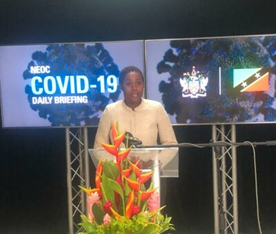 ST. KITTS-NEVIS PREPARED TO TACKLE SECOND WAVE OF COVID-19, SAYS NEW MINISTER OF HEALTH
