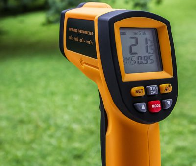 INFRARED THERMOMETERS SAFE TO USE, SAYS CHIEF MEDICAL OFFICER