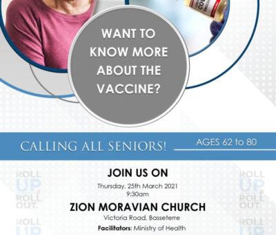 Notice-COVID-19 Vaccine Sensitization for Seniors