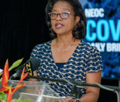 CURRENT WAVE OF COVID-19 VIRUS IN FEDERATION APPEARS MORE TRANSMISSIBLE AND DEADLY – CMO DR. HAZEL LAWS
