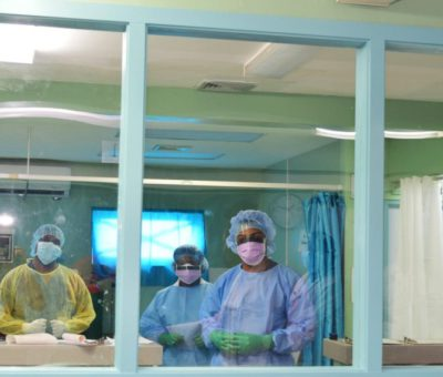 WITH 31 PATIENTS DISCHARGED AND ONLY ONE HOSPITALIZED, ST. KITTS & NEVIS SKILLFULLY ADMINISTERS ITS HEALTH CARE SYSTEM