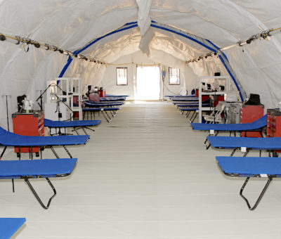 FIELD HOSPITALS TO ARRIVE IN ST. KITTS & NEVIS SHORTLY TO AID IN THE FIGHT AGAINST COVID-19